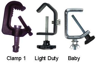 premier lighting clamps
